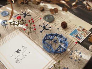 お父さんが一番喜ぶプレゼント親子の絆を感じることが出来る「まち針ストリングアート」です。