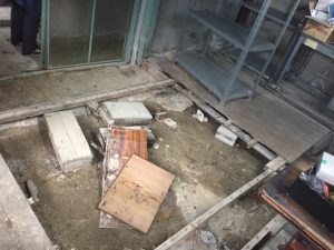 西日本豪雨災害から約1年、傷ついた自社工場が復旧しました!!ピンチをチャンスにかえるぞと新たな意気込みで頑張ります!