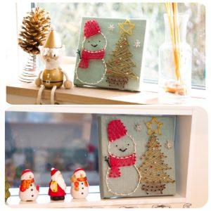 今年のクリスマス今何を飾ろうと悩んでいるあなたに!子供でも簡単に出来るストリングアートでクリスマスを彩ろう☆