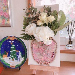 少し変わったフラワーアレンジメントで綺麗なお花がかわいく復活します!