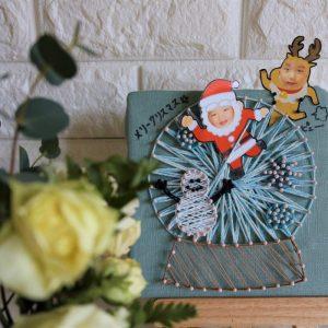 孫からおばあちゃんへクリスマスプレゼント(のお返し)。作り方を詳しく御紹介!