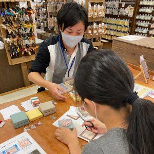 手芸店で初めてのワークショップを終えて。成果と課題の残る良いワークショップでした(#^.^#)