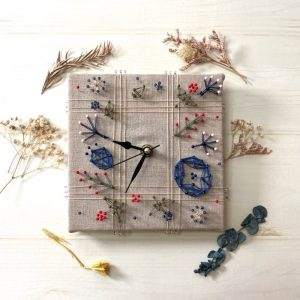 「おしゃれ・かわいいと称賛の嵐!!」 まち針ストリングアートで手作り時計を作ろう!!